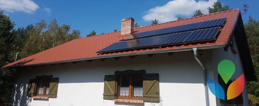 Fotowoltaika Czarnków Trzcianka – Instalacja o mocy 3,1kWp, 10 paneli solarnych