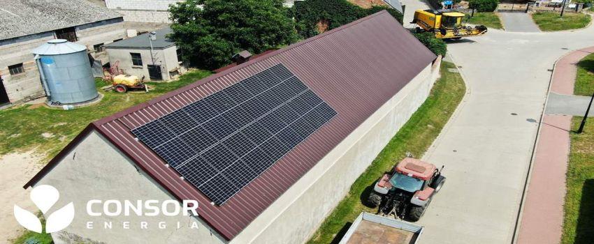 Instalacja fotowoltaiczna dla rolników 5,84 kWp 16 modułów